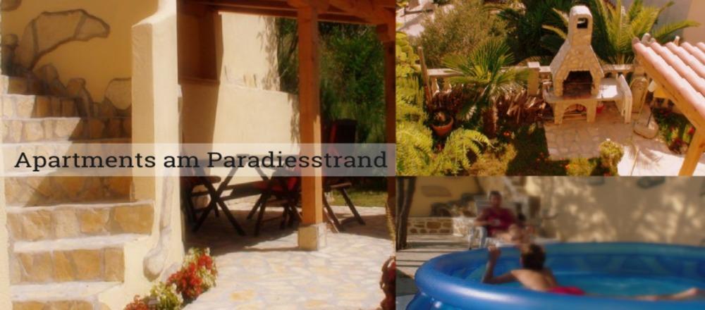 Garten Ferienwohnung Sirena lopar